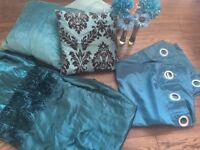 Turquoise bedroom set