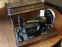 Vintage fully working sewing machine