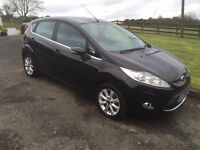 2009 FORD FIESTA 1.25 ZETEC WITH 88000 MILES AND 3 month warranty
