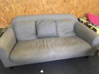 Habitat three piece sofa and chairs
