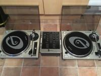 Mixer and Decks