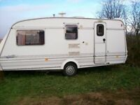 elddis typhoon 4 berth 99 ful end shower room one owner in immaculate condition
