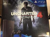 PS4 brand new sealed pack