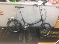 Raleigh evo Alloy folding bike