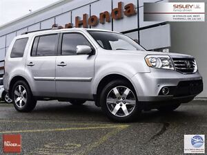 2015 Honda Pilot Touring - 1 Owner, Accident Free, Loaded
