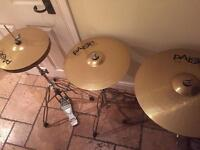 Paiste 101 Brass Cymbal Set (all offers considered)