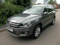 Volkswagen Tiguan 2.0 TDi BlueMotion Tech Match 5dr DSG (grey) 2014