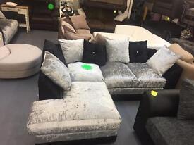 Brand new corner sofas