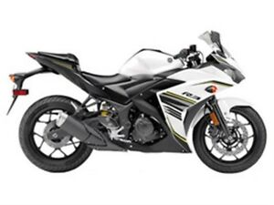 2017 yamaha  YZF-R3 ABS Metallic White