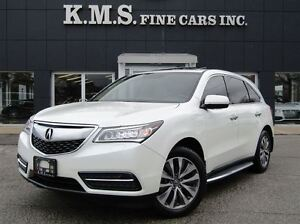 2014 Acura MDX TECH PACKAGE| RUNNING BOARDS| DVD| CLEAN CARPROOF