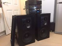 Rare Pioneer System With Rare Omni Audio SA12.3 Speakers, Bargain