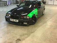 Bmw 328i sport coupe drift modified e36