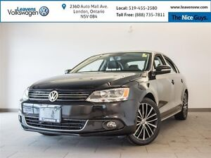2013 Volkswagen Jetta 2.5L Highline+NAVI+LEATHER+SUNROOF