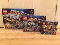 Brand new sealed Lego Superman Superheroes sets. 3 sets included. No offers. Buyer must collect