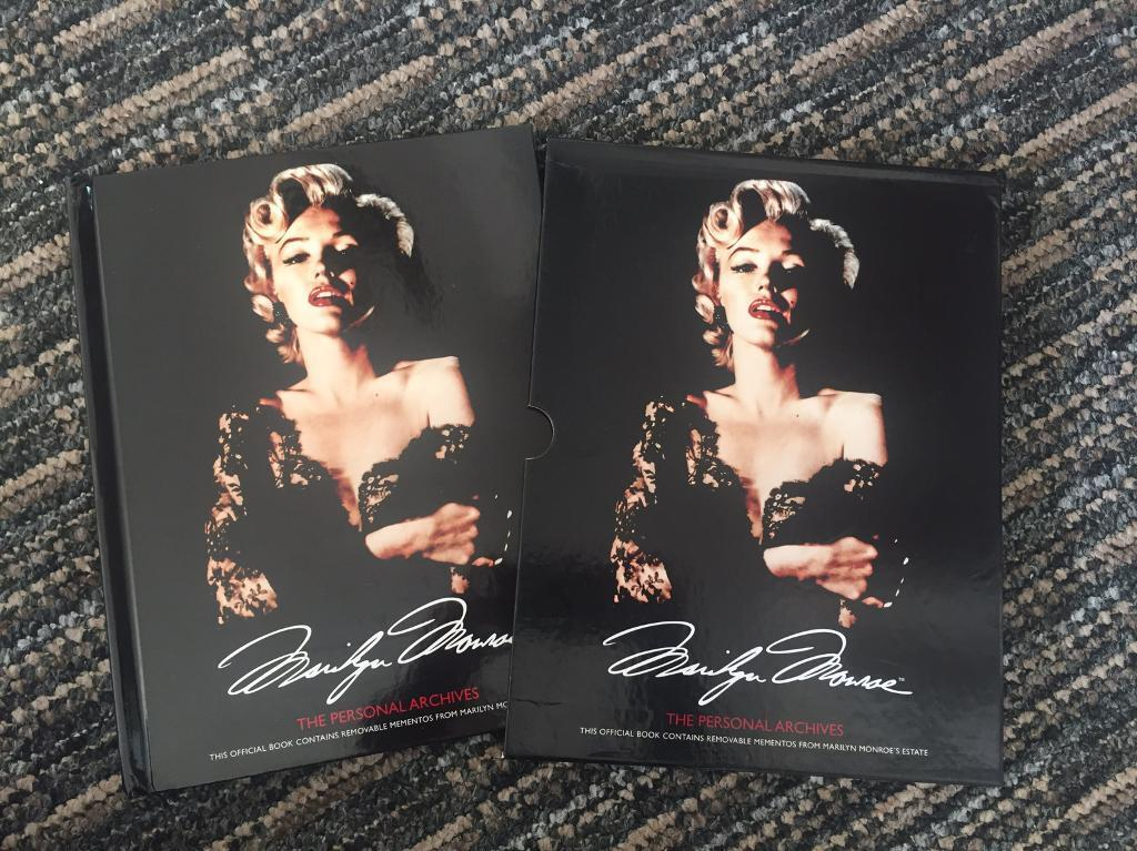 Marilyn Monroe The Personal Archives Hardback Book. Brand new condition.