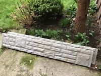 Concrete Gravel Boards - Rock Effect