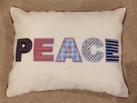 Peace Scatter Cushion Pillow