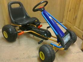 Children's pedal go cart