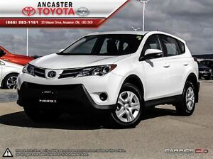 2015 Toyota RAV4 LE AWD ONLY 26443 KMS!!