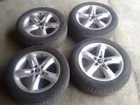"""MK2 FORD FOCUS 16"""" ALLOYS ALLOY WHEELS WITH TYRES"""