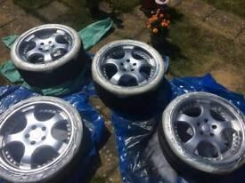 18's Mercedes alloy wheels
