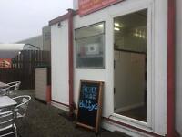Established cafe/takeaway cabin