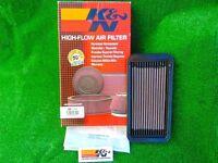 K&N High Flow Air Filter. (Hyundai Getz- All, 2002-08) (Also Toyota Starlet, Tercel & Paeso)