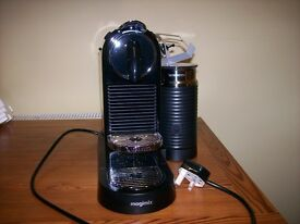 AS NEW, LARGE NESPRESSO MAGIMIX COFFE MACHINE.