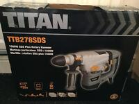 Brand new! Titan 1500W SDS plus rotary hammer drill