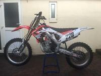 Honda crf 250 efi 2010. Very clean bike