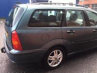((( AUTOMATIC - LOW GUARANTEED MILEAGE 66,000 MILES ))) FORD FOCUS 1.6*ESTATE*(MOT- 1 YEAR )*F/S/H*