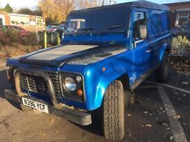 1996 Land Rover Defender 110 300 TDI Utility Panel Van. Camper conversion / Expedition ?