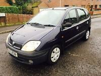 "2001 RENAULT SCENIC 1.4L 5-DOOR HATCHBACK ""JUST PASSED MOT TODAY"""