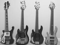 Online Recording Session Bassist available