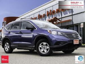2014 Honda CR-V LX - Accident Free, 1 Owner, Excellent Condition