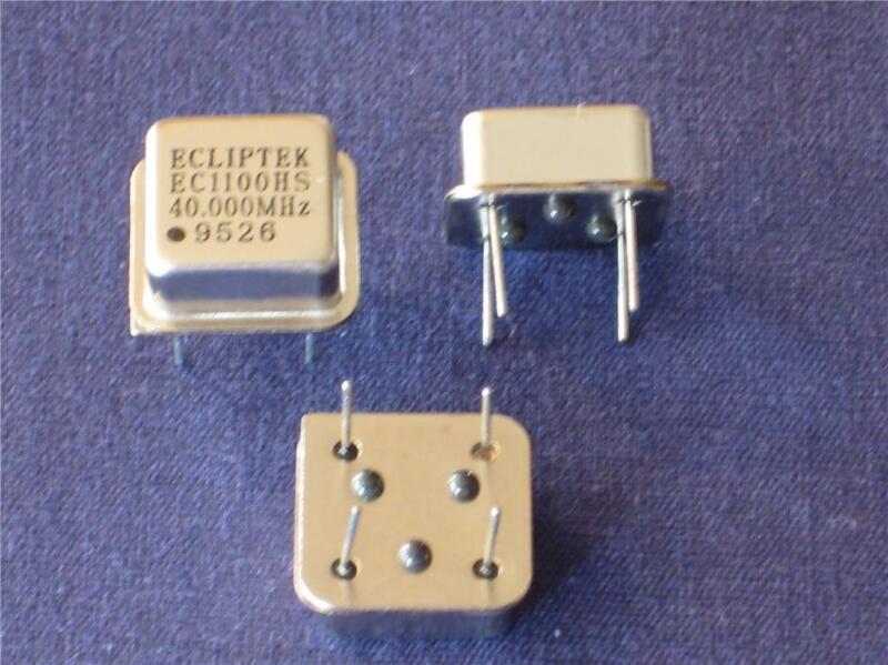 40.000Mhz CRYSTAL OSCILLATOR HALF CAN 10 pcs