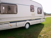 sterling 4 berth fixed bed 2004 full new awning ex condition