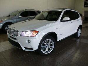 2013 BMW X3 xDrive28i SOLD PANOROOF LOW KM