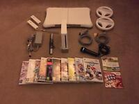 Nintendo Wii plus games & Wii Fit board