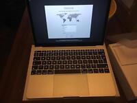 Silver macbook 12 retina screen 2015 mint