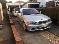 BMW 3 Series e46 330ci Coupe - Brand New MOT