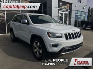 2014 Jeep Grand Cherokee Limited| Leather| Sunroof| Remote Start