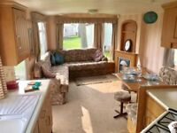 2 bedroom caravan inc., site fees on 12 month holiday park Highfield Grange Clacton on sea