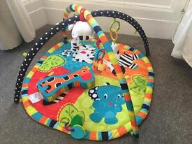 Baby playmat baby gym