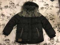 Boys padded winter coat, Age 5