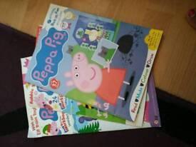 Peppa Pig magazines