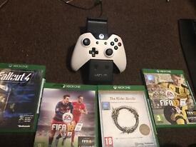 White Xbox 1 500GB