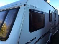 Elddis Compass Corona 524 2005 model 4 berth Caravan