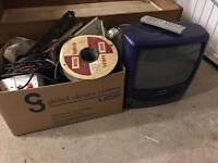 Scrap Metal/TV VCR/Old Electrics