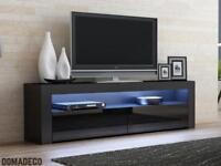 Domadeco Milano Black TV Stand (NEW)